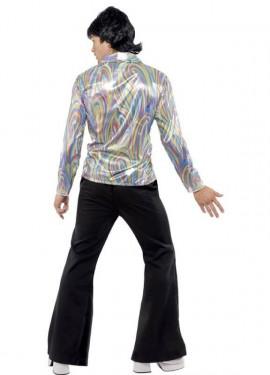 Disfraz Disco Años 70 Retro Psicodélico para Hombre