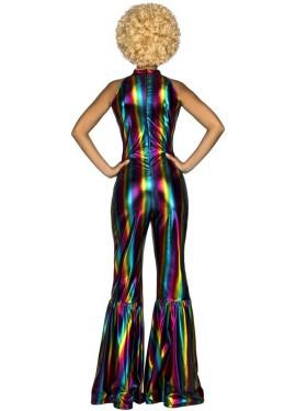 Disfraz Disco Arcoíris para mujer