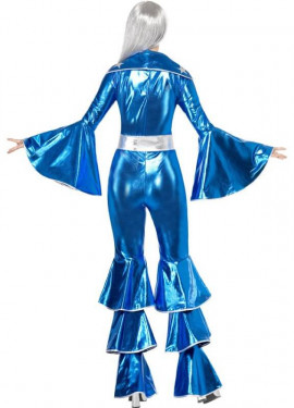 Disfraz Disco Dancing Dream Azul para Mujer