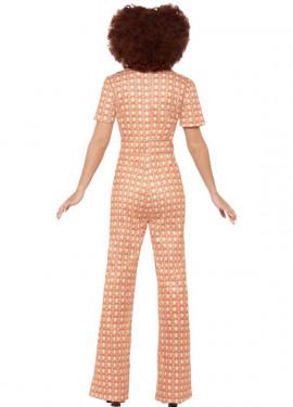 Disfraz Disco Vintage de los 70 para mujer