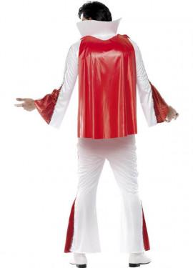 Disfraz Elvis auténtico con Capa para Hombre