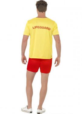 Disfraz Los Vigilantes de la Playa Amarillo Hombre