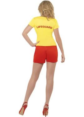 Disfraz Los Vigilantes de la Playa Amarillo Mujer