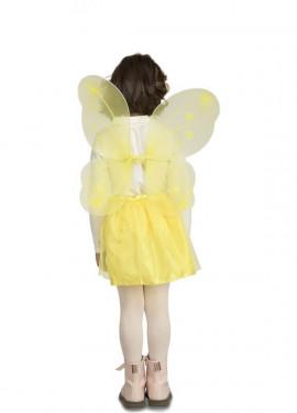 Kit Déguisement de Papillones Jaune