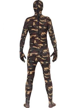 Disfraz o Mono Segunda Piel Camuflaje Militar