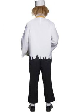 Disfraz Siniestro Vendedor de Palomitas para Hombre