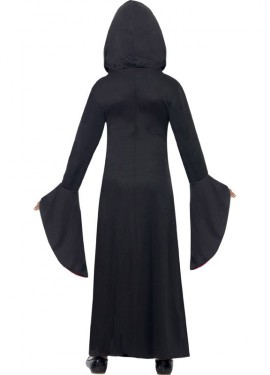 Disfraz Vampiresa Encapuchada para Niña