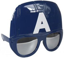 Gafas de Sol con media máscara de Capitán América