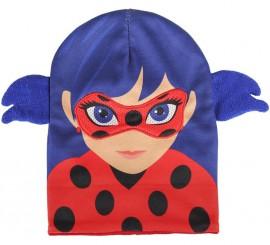 df0ba3f63f ... Casquette Bleu et Rouge de Miraculous Ladybug 20x21 cm