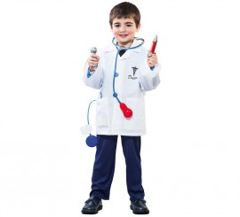Kit de Médico infantil: Bata con 7 accesorios