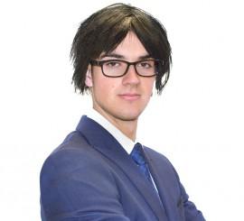 Kit Puigdemont: Peluca y Gafas