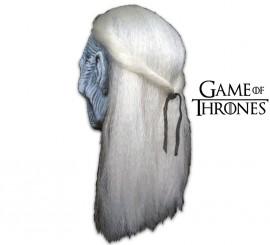 Máscara de Caminante Blanco de Juego de Tronos
