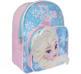 Sac à Dos Enfant Bleu de Elsa 23x30x10 cm