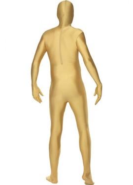 Mono segunda piel de color oro o dorado