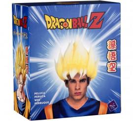 Peluca de Saiyan Son Goku de Dragón Ball en caja para hombre