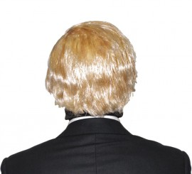 Peluca Rubia corta Presidente Donald Trump