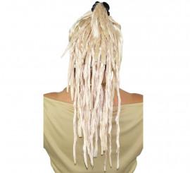 Perruque Blonde avec Rastas et Frange de La Pili