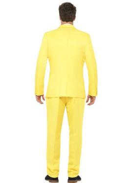 Déguisement Costume Cravate Jaune pour homme plusieurs tailles