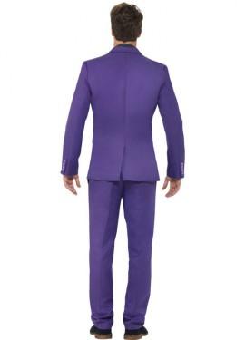 Déguisement Costume Cravate Mauve pour homme plusieurs tailles