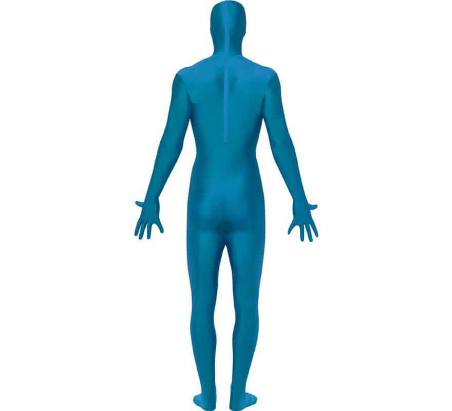 Mono segunda piel de color azul-B