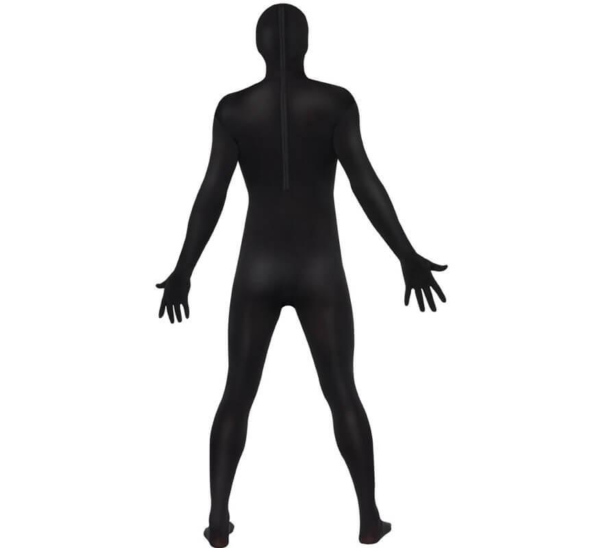 Mono segunda piel de color negro-B