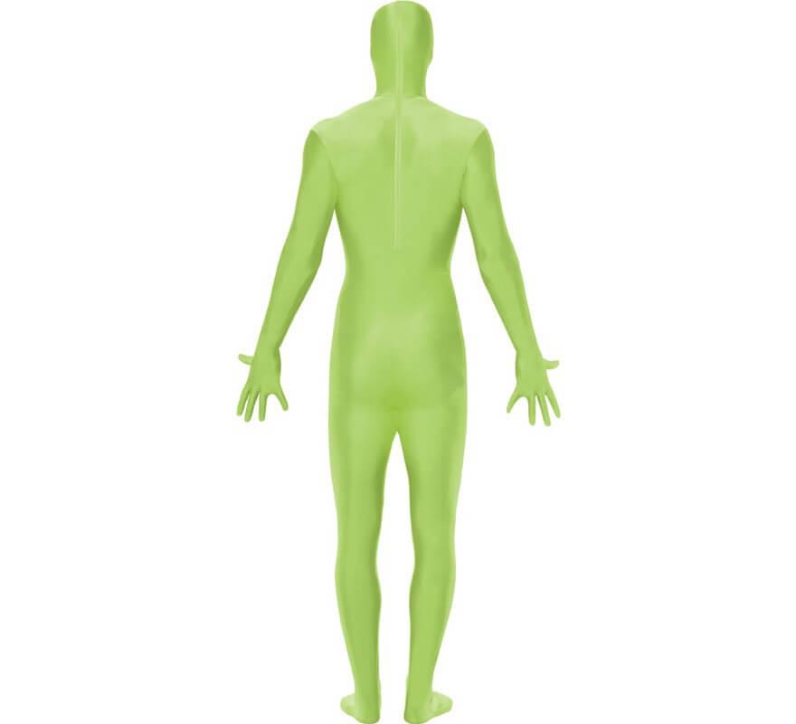 Mono segunda piel de color verde-B