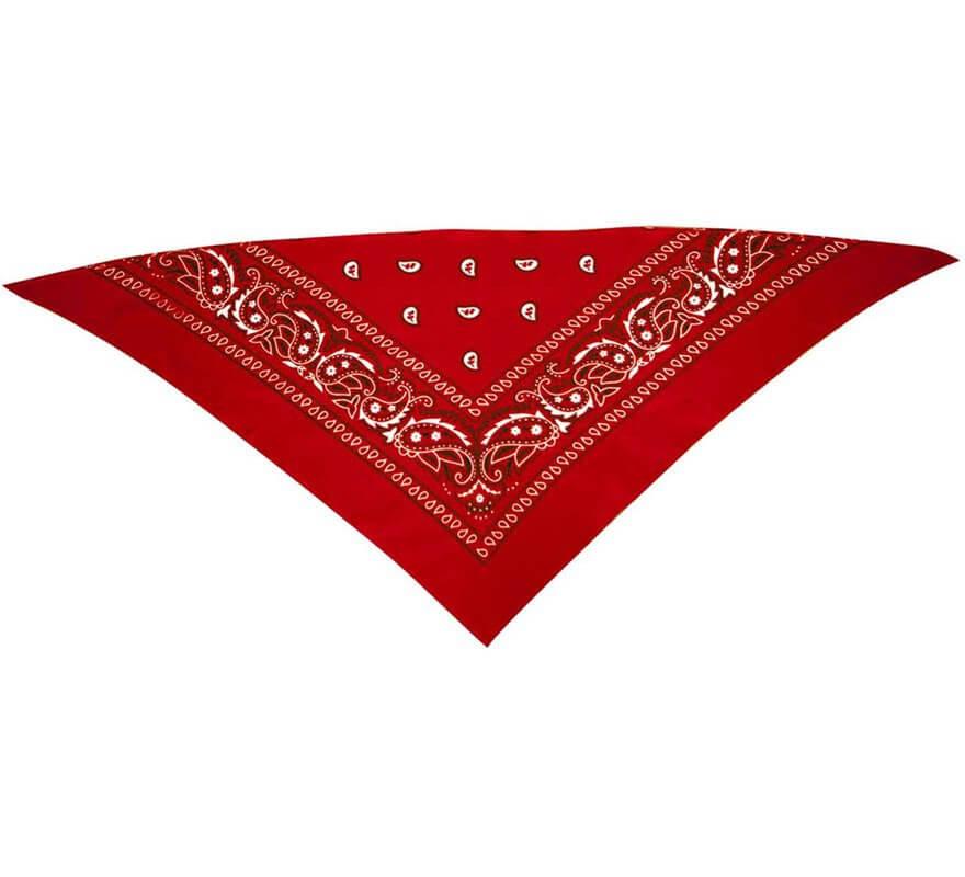 Pañuelo Rojo de Cowboy-B