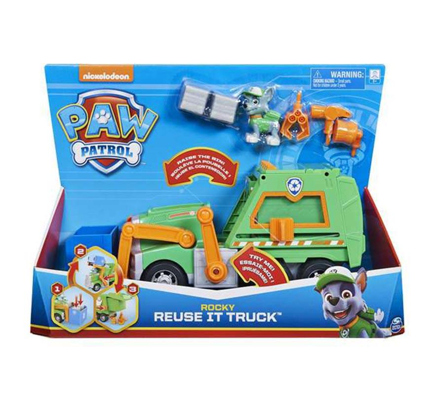 Patrulla Canina Camión de Reciclaje Rocky con Accesorios-B
