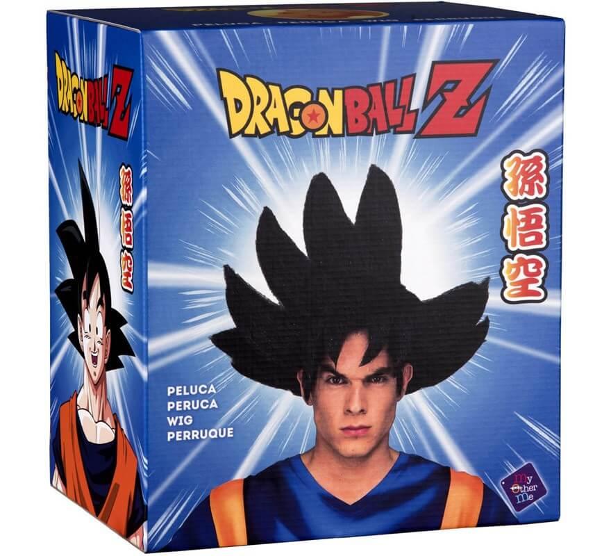 Peluca de Son Goku de Dragón Ball en caja para hombre-B