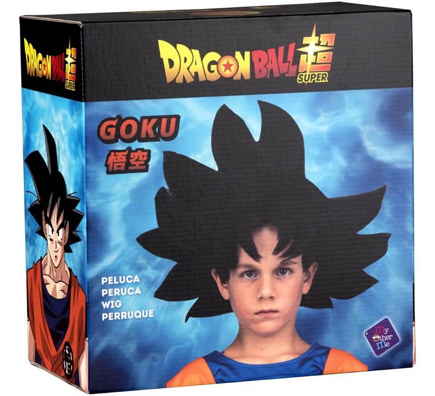 Peluca de Son Goku de Dragón Ball en caja para niño-B