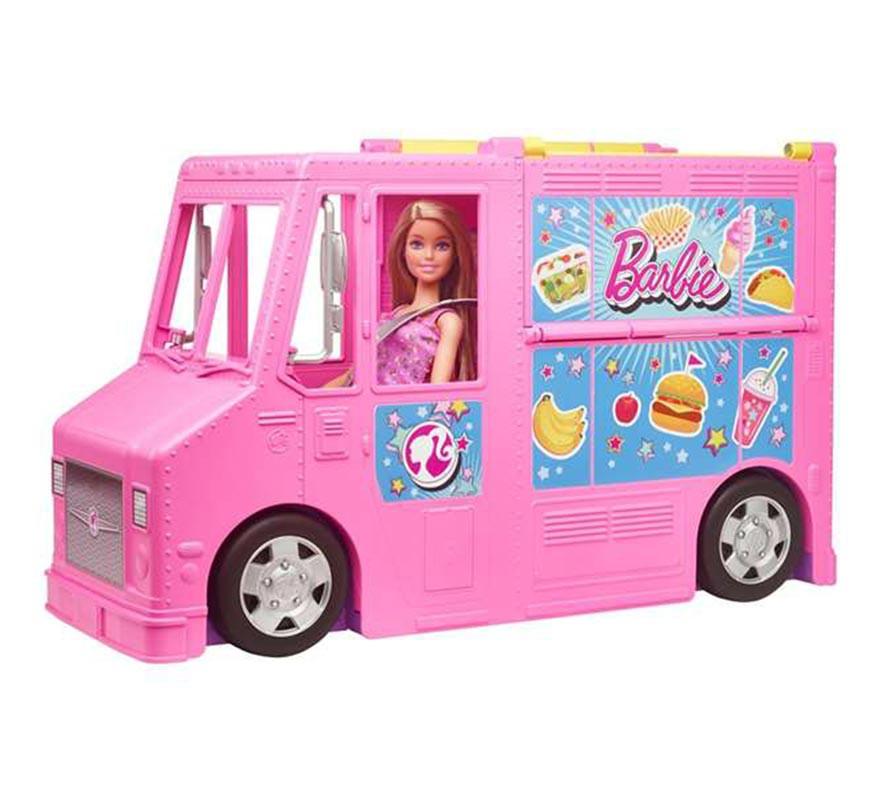 Restaurante de Barbie y sus Hermanas con 3 Muñecas-B