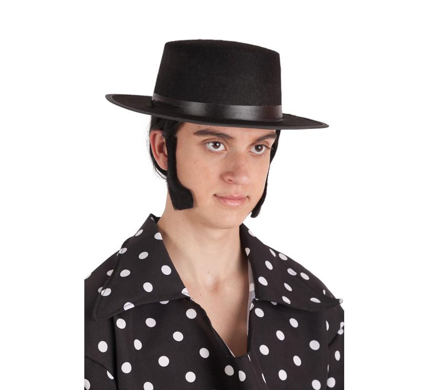 Sombrero Cordobés negro para adultos a1cdbfaa0c5
