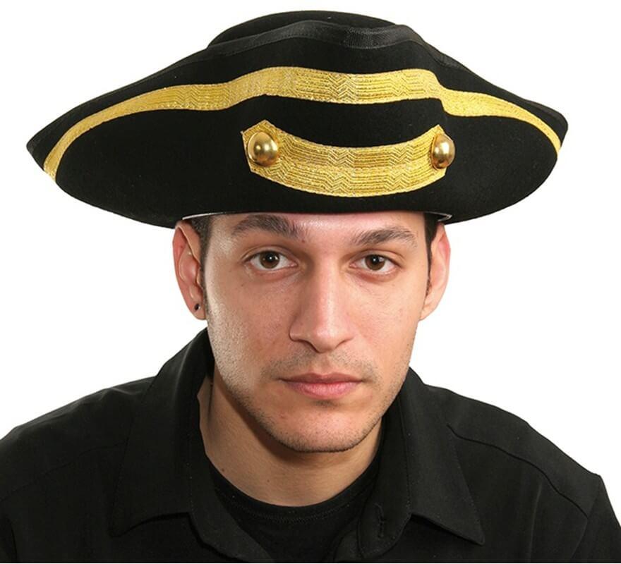 Sombrero Capitán Pirata Infantil con Calavera ba1caca21ac