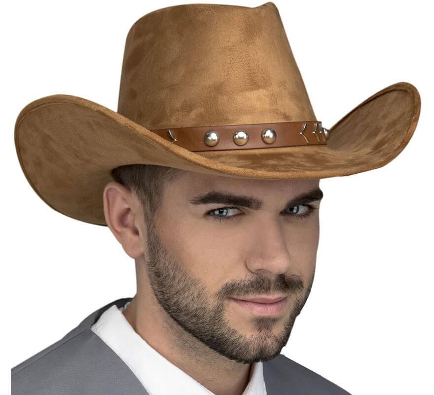00132ccac8b45 Sombrero de Vaquero Marrón con Cinta