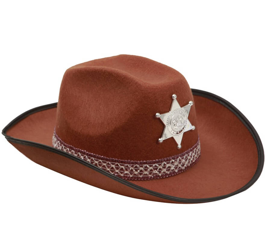 Sombrero de Vaquero para adultos marrón 81d6028ba13