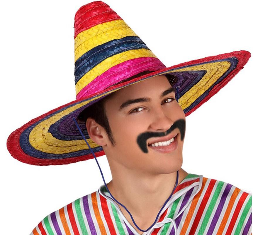 Sombrero Mexicano Multicolor 50 cm 8a8c543ab8b