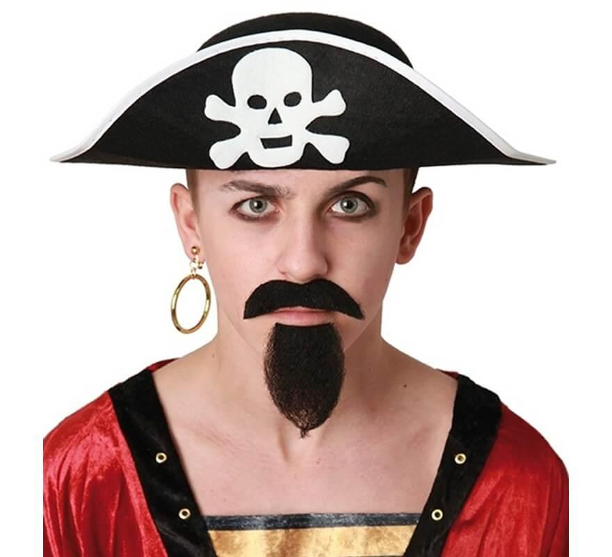 Sombrero Pirata con Calavera Adulto 14312a64691