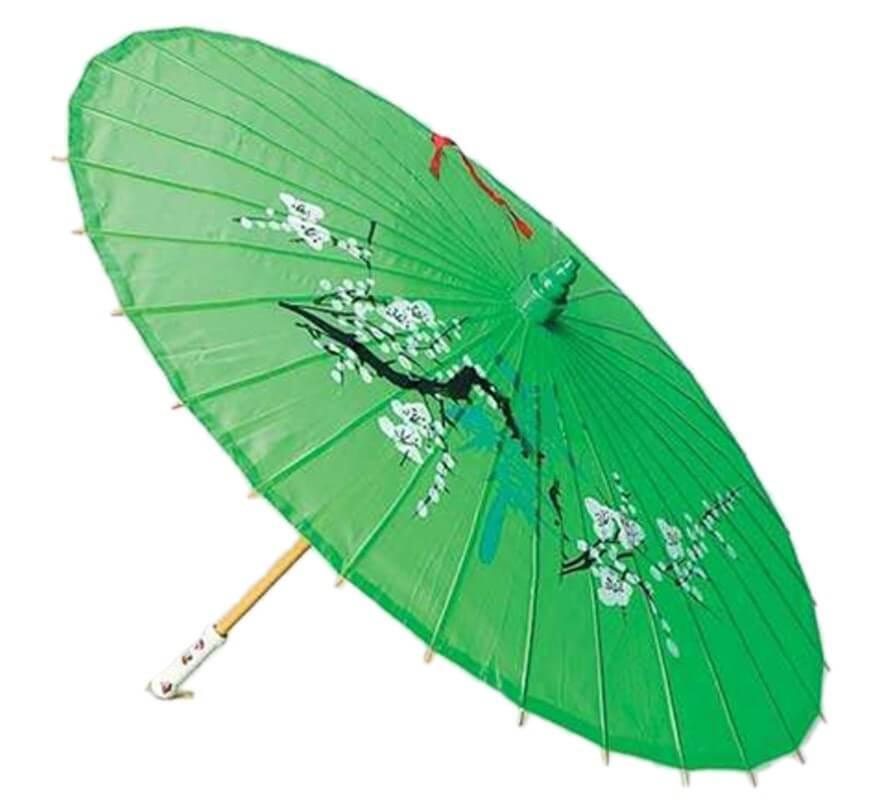 Sombrilla japonesa for Mesas para jardin con sombrilla