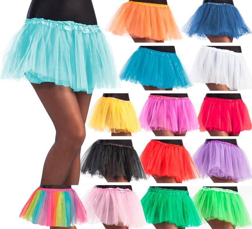 estética de lujo moda mejor valorada descuento Tutú de 30 cm de largo en varios colores para mujer