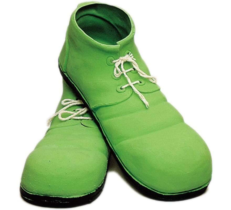 De Látex Zapatos Verdes 24 Cm Payaso thrdCsQ