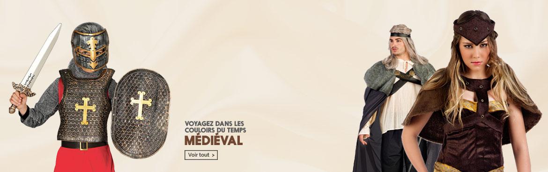 Deguisements medieval