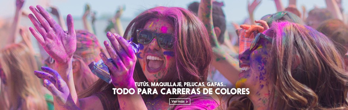 disfraces carrera de colores holirun