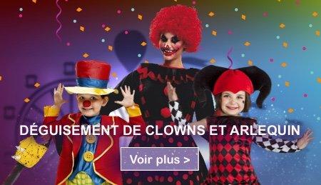 Deguisements clowns