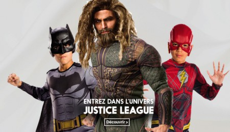 Deguisements justice league