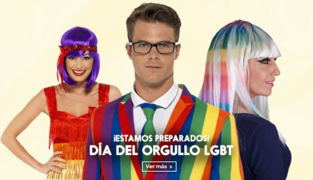 Disfraces orgullo gay