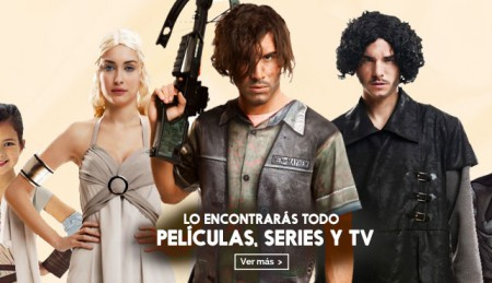 Disfraces películas series y televisión
