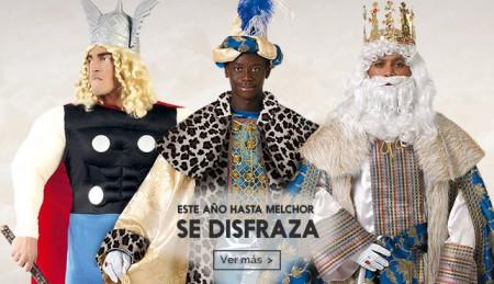 Disfraces de reyes magos