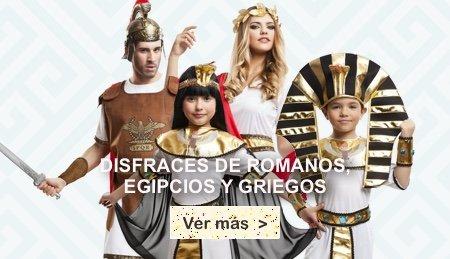 Disfraces de roma y grecia