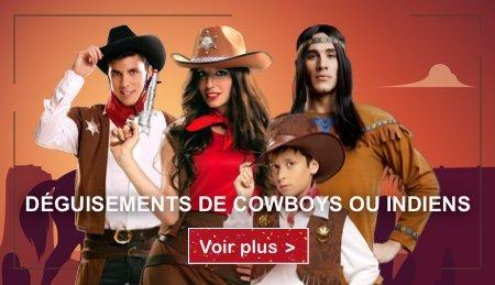 Deguisements cowboys